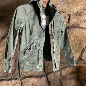 Abercrombie Olive Green Jacket